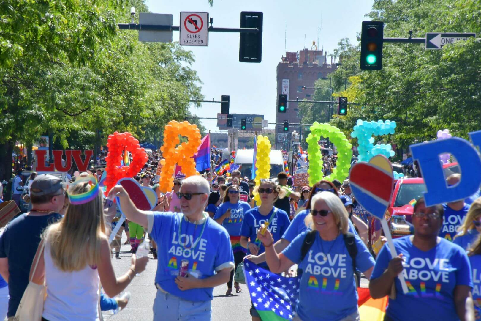 Coors Light Pride Parade, Denver 2018
