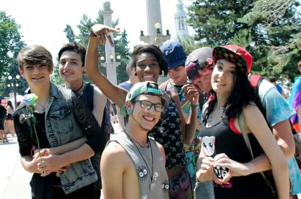Youth at Denver PrideFest