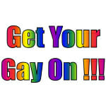 Get Your Gay On Logo