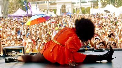 Center Stage at Denver PrideFest