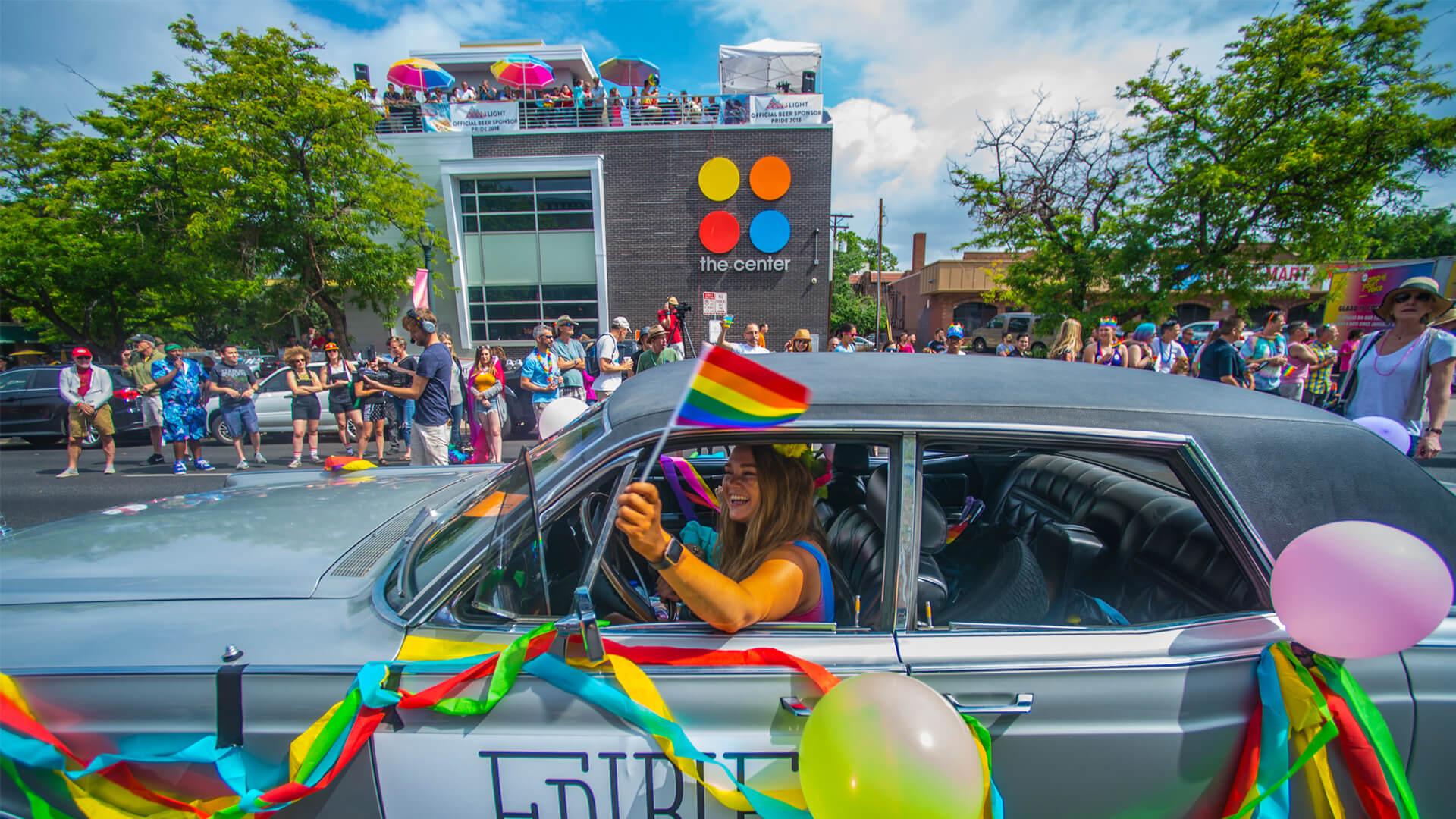 Getting to Denver PrideFest