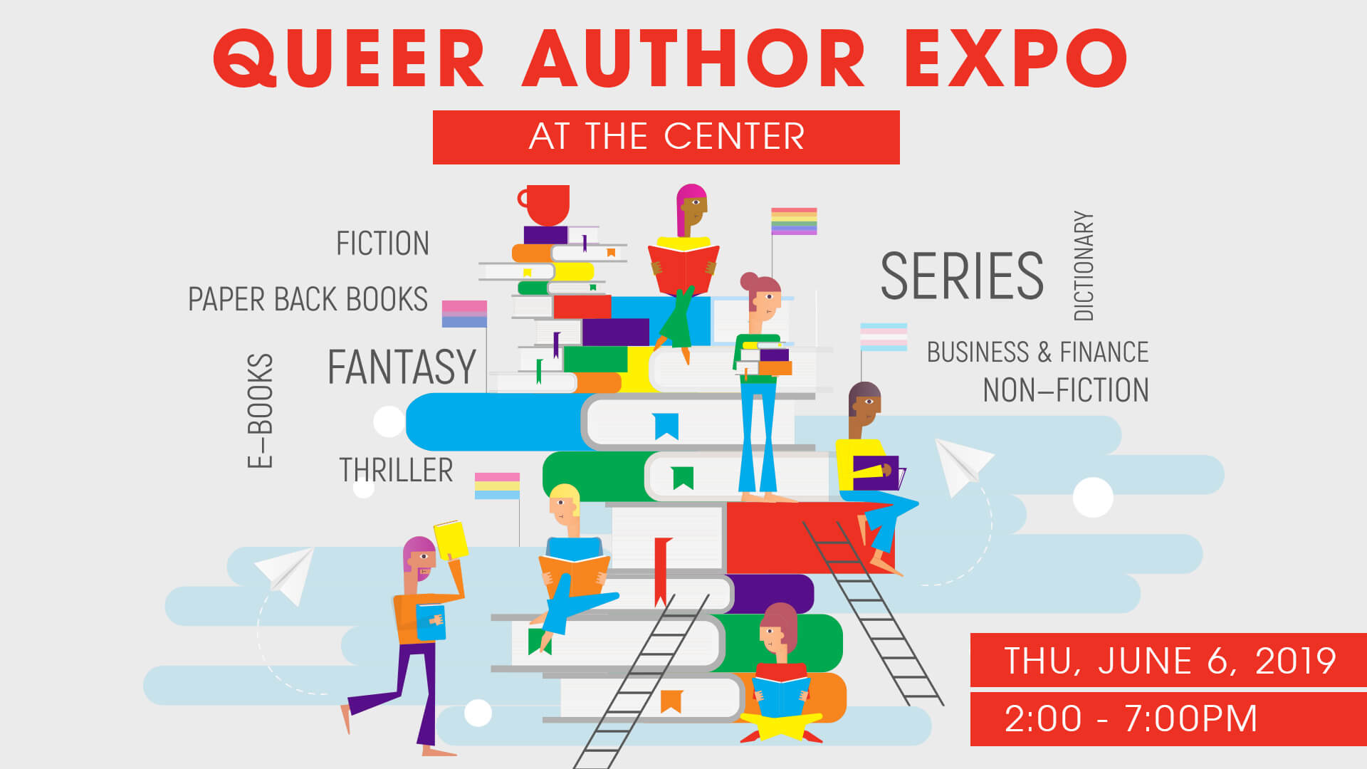 Queer Author Expo 2019