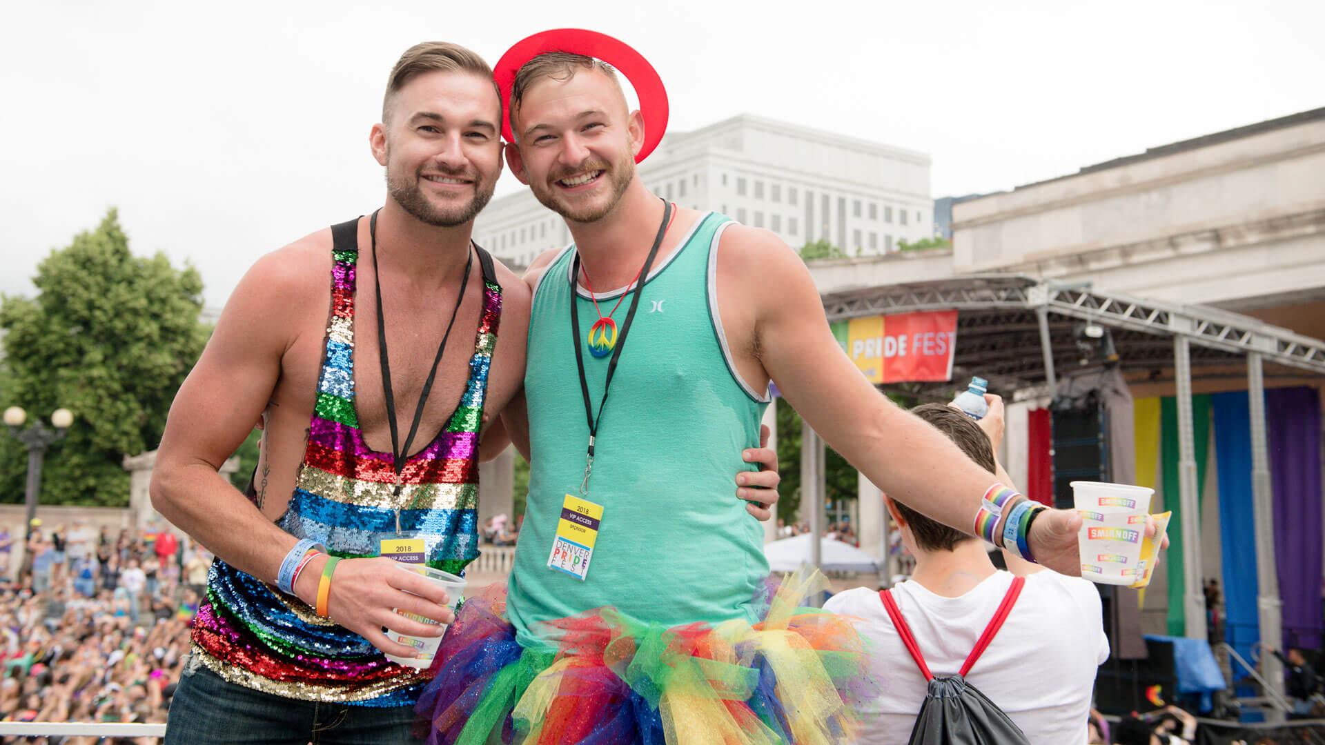 Denver PrideFest at Civic Center Park