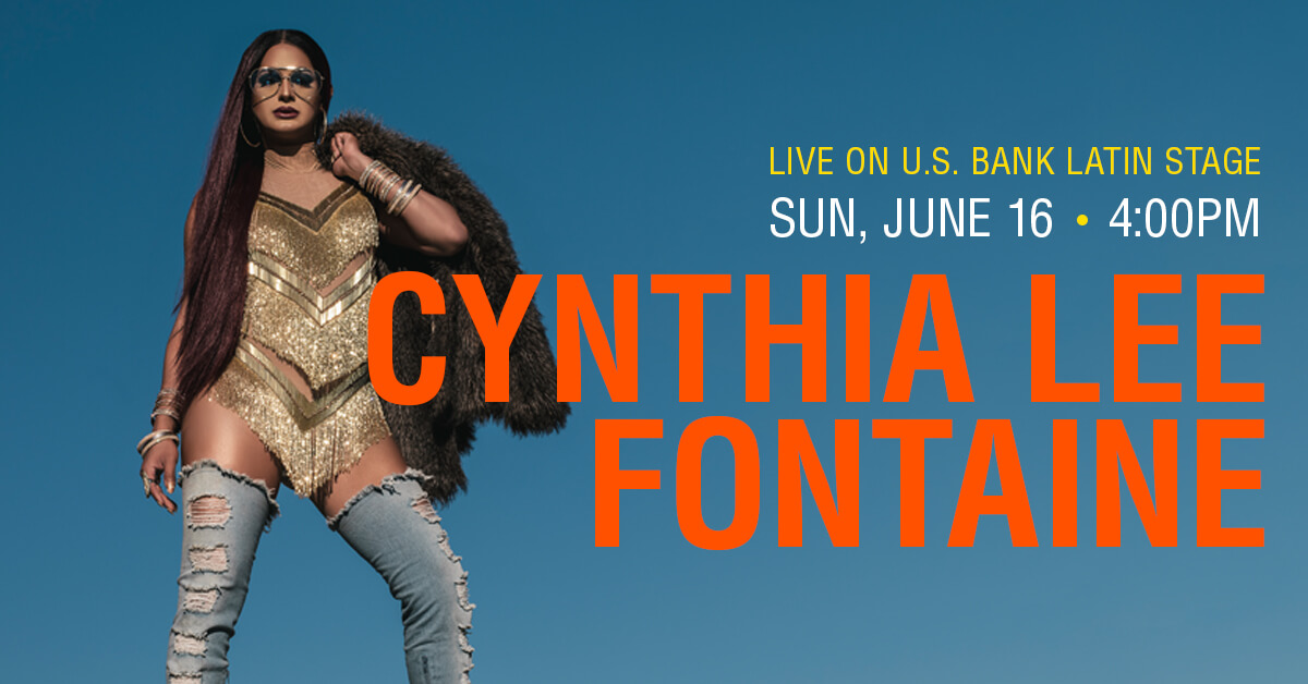 Cynthia Lee Fontaine on U.S. Bank Latin Stage