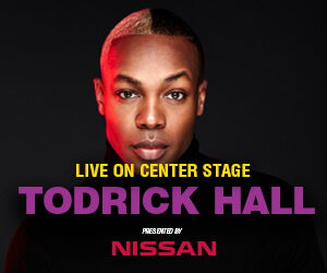 Todrick Hall presented by Nissan
