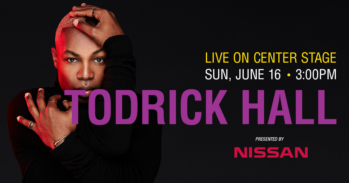 Todrick Hall on Center Stage