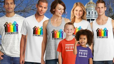 We the People's 2019 Denver Pride Official T-Shirt